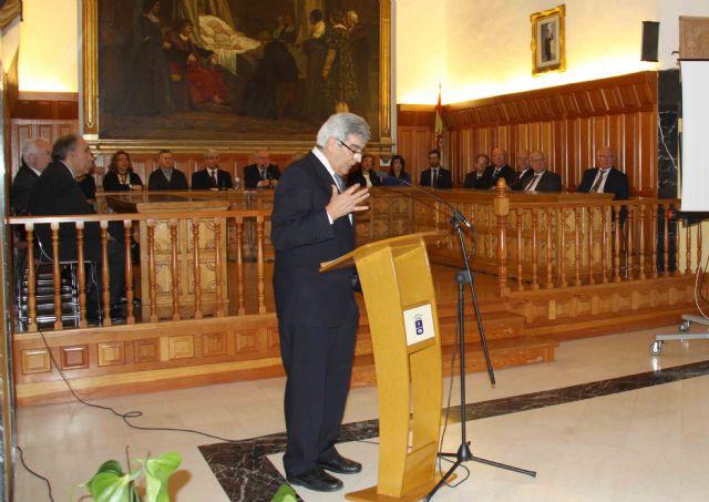 La Academia de Bellas Artes de Murcia se reúne en Caravaca para ensalzar la obra de Rafael Tegeo - 2, Foto 2