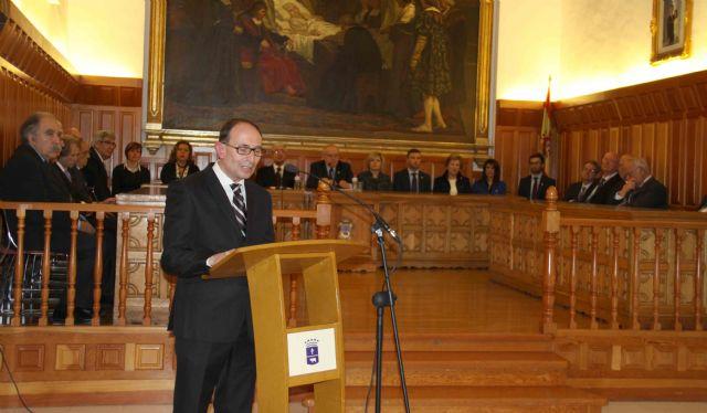 La Academia de Bellas Artes de Murcia se reúne en Caravaca para ensalzar la obra de Rafael Tegeo - 3, Foto 3