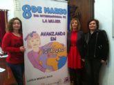 Organizan 13 actos para celebrar del 2 al 25 de marzo el Día Internacional de la Mujer