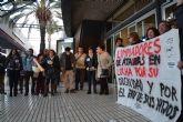 Los trabajadores de la limpieza del centro comercial Atalayas llegan a un acuerdo con la empresa y dan por concluida la huelga