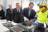 El Alcalde inaugura la primera planta de la región para el tratamiento de residuos electrónicos