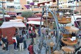 Un gran Mercado Medieval sumerge durante este fin de semana las calles del centro de la ciudad de Totana en una fiesta para los sentidos