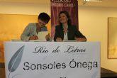 Sonsoles Ónega presenta en Blanca su último libro 'Nosotras que lo quisimos todo'