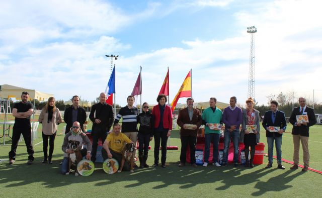 El V Concurso Nacional Canino exhibió 300 ejemplares de más de 75 razas caninas en Puerto Lumbreras - 1, Foto 1