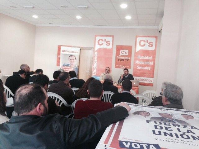 Alhama acogió la reunión de Coordinadores de las 23 agrupaciones locales de Ciudadanos, Foto 3