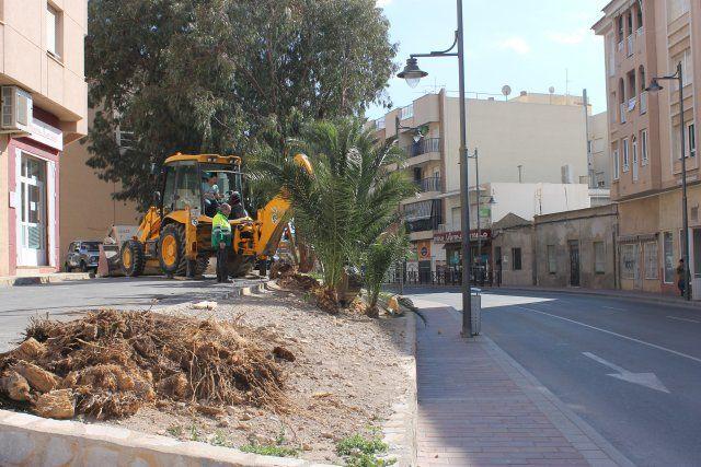 Las obras en la Avenida Doctor Meca mejoran el acceso a Puerto de Mazarrón, Foto 2