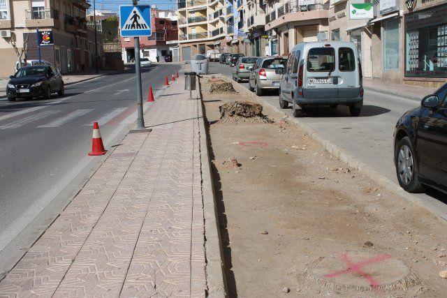 Las obras en la Avenida Doctor Meca mejoran el acceso a Puerto de Mazarrón, Foto 4