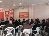 Alhama acogi� la reuni�n de Coordinadores de las 23 agrupaciones locales de Ciudadanos