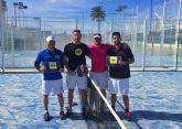 Javi Pitillín y Jesús García ganan el mini torneo aficionado de pádel organizado por la Concejalía de Deportes torreña
