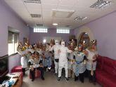 Los usuarios del Centro Ocupacional recrean el Antiguo Egipto en Carnaval