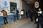 Distintas redadas en diversos locales de ocio de la localidad de Torre Pacheco culminaron con la detención de 11 personas