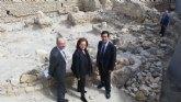 Cultura,  Ayuntamiento y Balneario de Archena estudian cómo poner en valor su origen romano