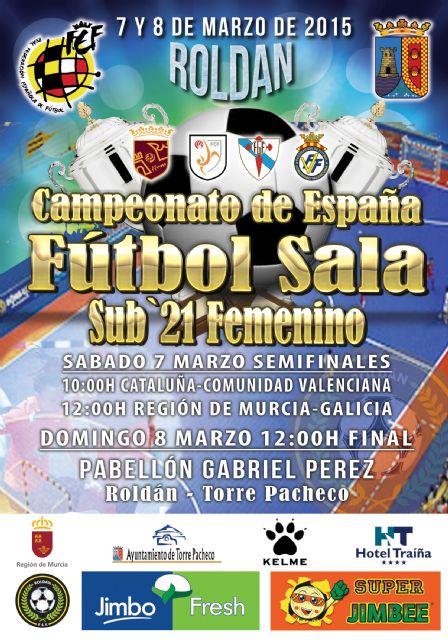Roldán acogerá este fin de semana el Campeonato de España de fútbol sala femenino sub-21 - 3, Foto 3