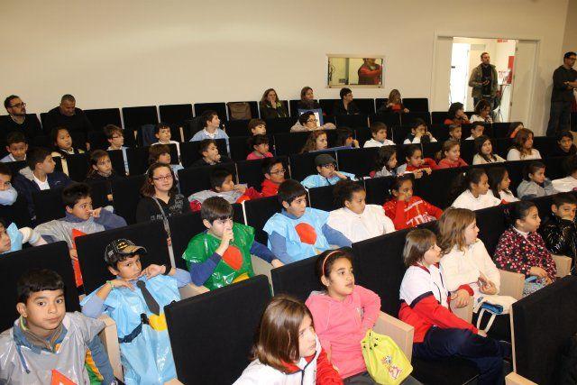 Niños de cuatro colegios participan en un nuevo festival de educación vial, Foto 2