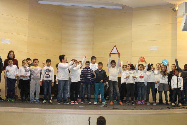 Niños de cuatro colegios participan en un nuevo festival de educación vial, Foto 4