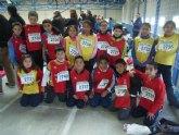 Los colegios Tierno Galván y Luís Pérez Rueda participaron en la final regional de jugando al atletismo de Deporte Escolar
