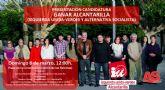 IU-Verdes de Alcantarilla presenta este domingo su candidatura en un acto público