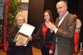 Antonia Cler recibió el premio Mujer del Año que concede la Comisión Municipal de Igualdad con motivo del 8M