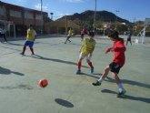 �guilas, Mazarr�n y Totana acogieron las finales de la fase intermunicipal de deportes de equipo