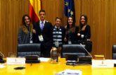 Cuatro alumnos del IES Alcántara de Alcantarilla participan en la XV sesión nacional del modelo de parlamento europeo en Madrid