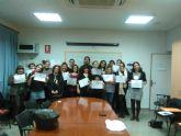 Dieciocho personas se han formado en el curso de Formación Gerontológica celebrado en San Javier