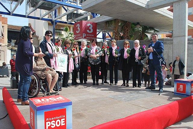 El PSOE se vuelca con las mujeres de Alcantarilla - 1, Foto 1