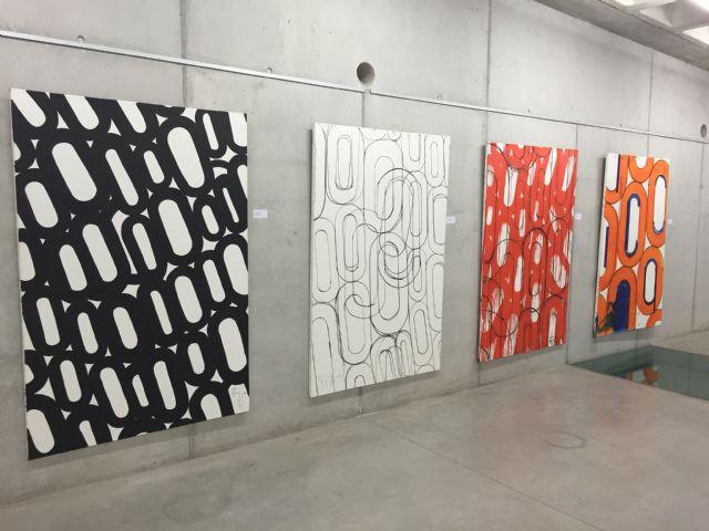 Inaugurada la exposición 'La era postindustrial', que estará en la Biblioteca de Torre-Pacheco hasta el 30 de abril - 1, Foto 1
