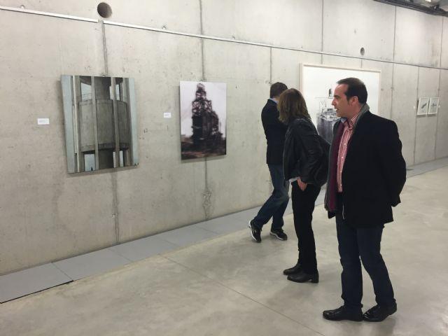 Inaugurada la exposición 'La era postindustrial', que estará en la Biblioteca de Torre-Pacheco hasta el 30 de abril - 2, Foto 2