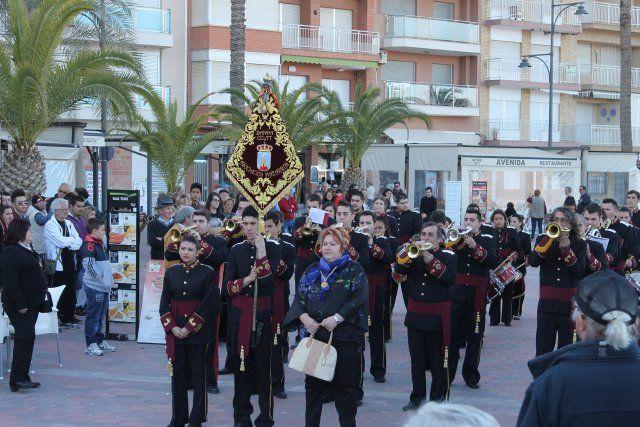 El I Certamen de Marchas Procesionales reúne a seis bandas de cornetas y tambores en el Paseo Marítimo, Foto 2