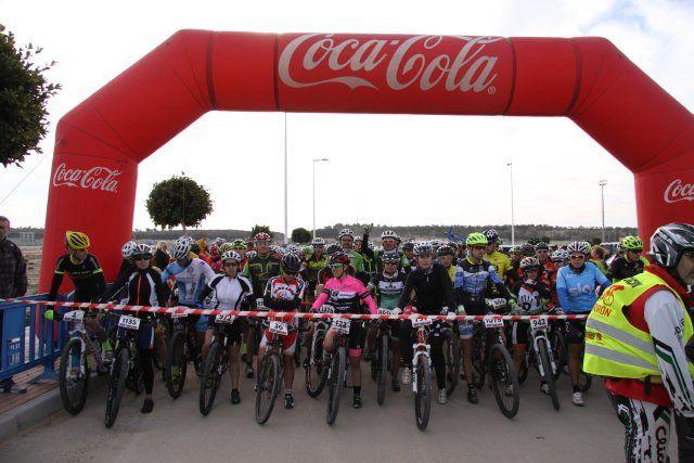 Mil doscientos ciclistas participan en la VII Marcha Nacional de Bicicleta de Montaña, Foto 1