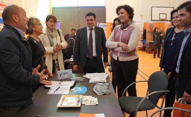 Primera Feria de Empleo, Formación e Innovación en Puerto Lumbreras - 1, Foto 1