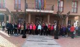 Alguazas vive la gran fiesta del senderismo en apoyo de la Vía Verde