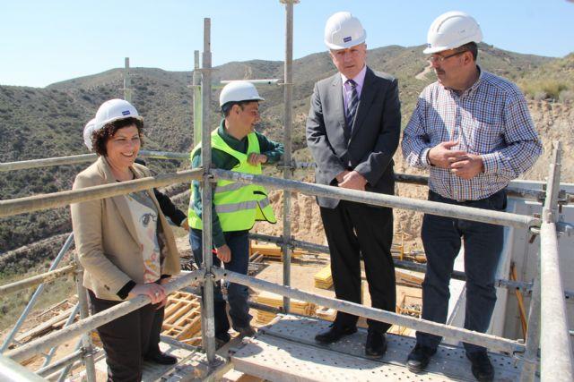 En marcha las obras de una nueva estación de elevación para mejorar el abastecimiento de agua en la pedanía lumbrerense de Góñar - 1, Foto 1