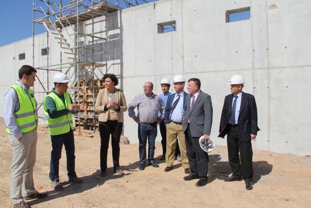 En marcha las obras de una nueva estación de elevación para mejorar el abastecimiento de agua en la pedanía lumbrerense de Góñar - 2, Foto 2