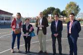 Educación remodela una de las pistas deportivas del colegio 'La Paz'