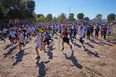 Mil corredores baten el récord de participación del 'XXX Cross Escolar' de Las Torres de Cotillas