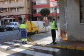 El ayuntamiento refuerza la limpieza e incrementa las obras de ingenier�a urbana