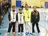 Los alguaceños Ilyass Siddiki y Bernardo Abenza se cuelgan plata y bronce en el campeonato regional de kárate