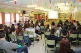 Los alumnos del IES Rambla de Nogalte reciben una charla sobre el uso responsable del agua