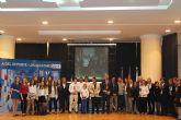 Jose Manuel Ruiz recibe el premio al mejor deportista en la II Gala del Deporte de Los Alcázares