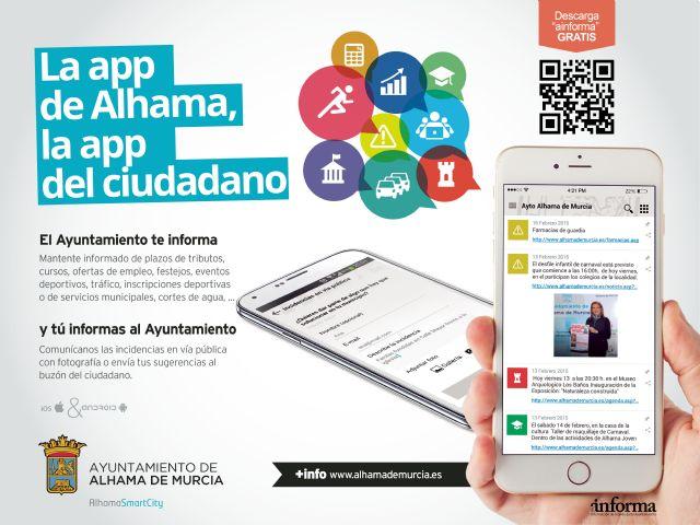 El Ayuntamiento presenta Ainforma, una aplicación que permite a los vecinos interaccionar con el Consistorio de forma inmediata, Foto 2