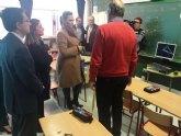 El Colegio Público Nuestra Señora del Rosario de Torre Pacheco recibe nuevos equipos informáticos