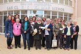 La Asociación Española de la Lucha Contra el Cáncer de Los Alcázares recibe 750 euros del grupo Patchwork