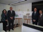 Bernabé presenta la nueva glorieta que dará acceso al centro logístico de Consum