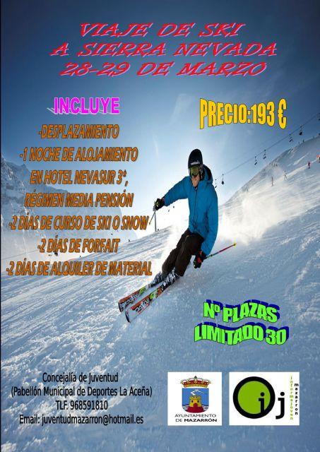 Juventud te invita a esquiar en Sierra Nevada, Foto 1