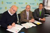 La Asociación de Comerciantes Único firma un convenio de colaboración con Caja Rural Regional