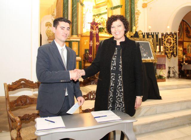 El Ayuntamiento y el Cabildo de Cofradías firman un convenio de colaboración para impulsar y promocionar la Semana Santa lumbrerense'15 - 1, Foto 1