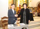 El Ayuntamiento y el Cabildo de Cofradías firman un convenio de colaboración para impulsar y promocionar la Semana Santa lumbrerense'15