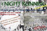 Todos disfrazados en Alguazas para la 'I Night Running' a beneficio de Cáritas