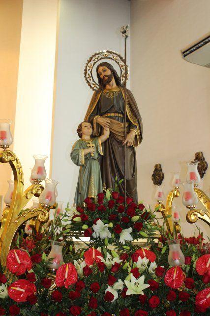 Una misa huertana rinde honores al patrón de Puerto de Mazarrón, Foto 4
